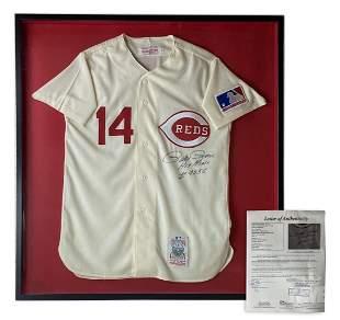 Pete Rose Cincinnati Reds Autograph Jersey SIGNED
