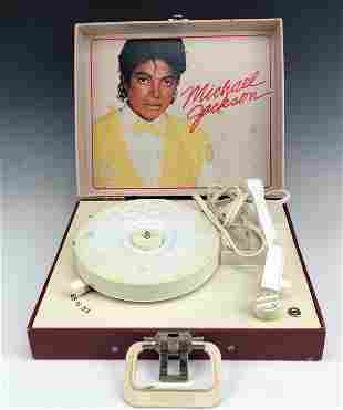 Michael Jackson Vanity Fair Record LP Player 1984