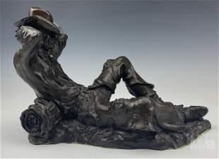 Rusty Phelps (American, b.1963) Bronze Sculpture