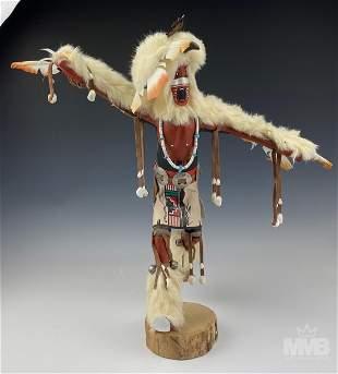 Kachina Doll Eagle Dancer Wood Figure Sculpture