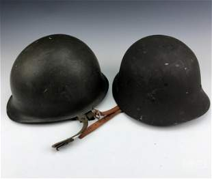 2pc German Military Army Combat War Helmet & Liner