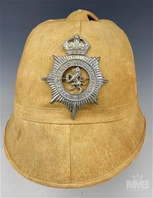British Bobby Macclesfield Borough Police Helmet