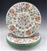 6 Haddon Hall by Minton Dinner Plates Bone China