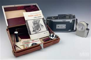 Polaroid Electric Eye Land Camera Model 900 & More