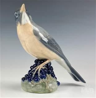 Royal Copenhagen Red Wing Swallow Bird Figurine