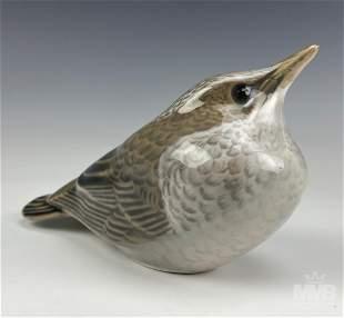 Royal Copenhagen Starling Fledgling Bird Figurine