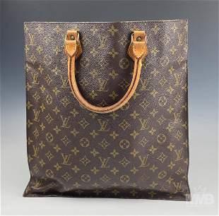 Louis Vuitton Sac Plat Monogram Shoulder Bag