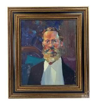 Robert Haydock Portrait of Gentleman Oil Painting