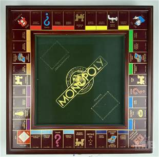 Franklin Mint Collectors Edition Monopoly Game