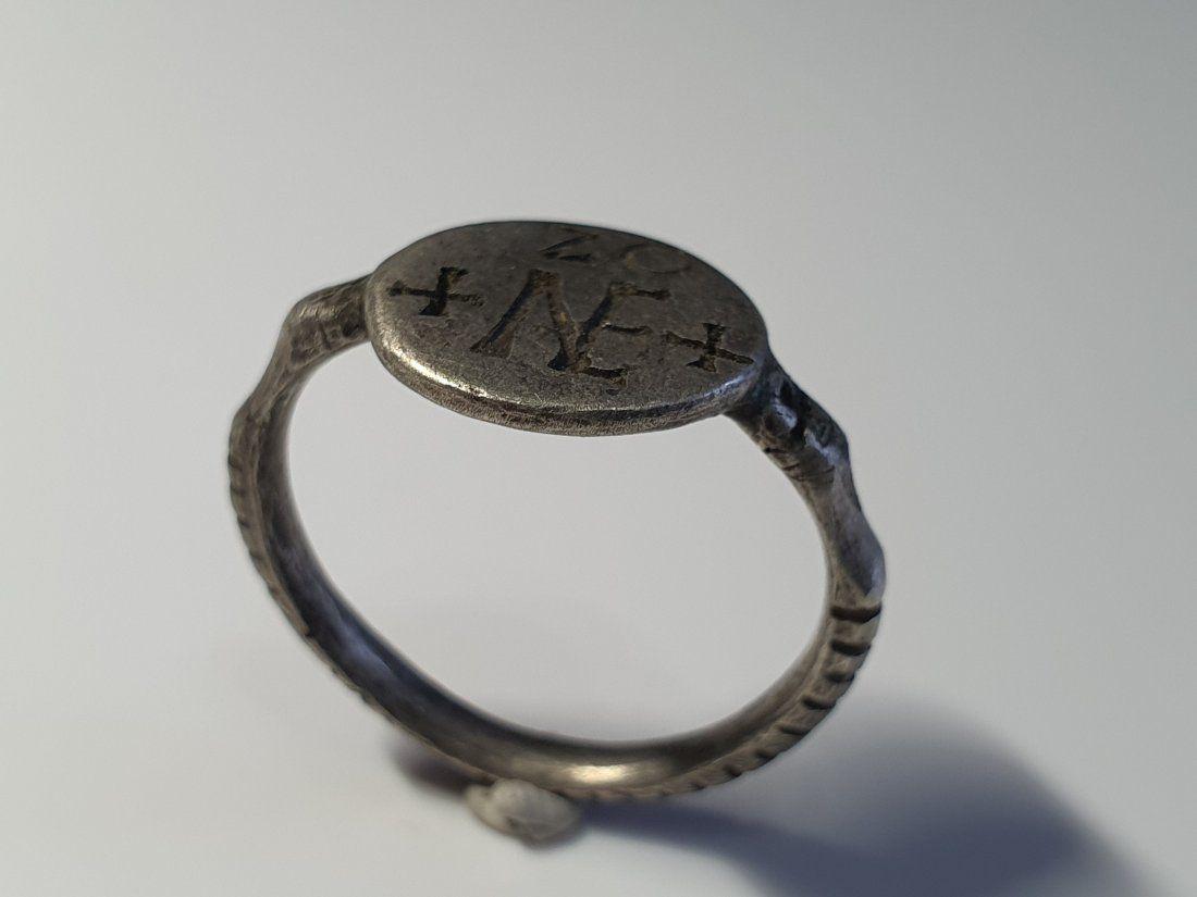 Medieval -Crusaders Silver Ring