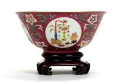 A Very Fine Chinese Famille Rose Bowl