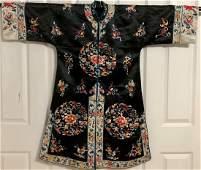 A Chinese Silk Robe