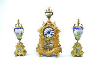 A Set of French Clocks
