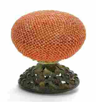 A Chinese Hat Finial