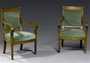 Fine Pair of Armchairs