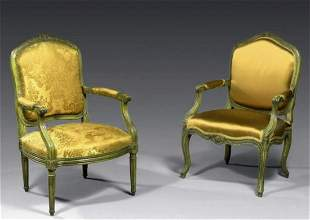 A Fine Pair of Armchairs