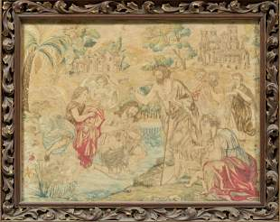 A Piece of Framed Fabric