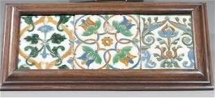 A Framed Set of Tiles