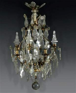 A Large Chandelier