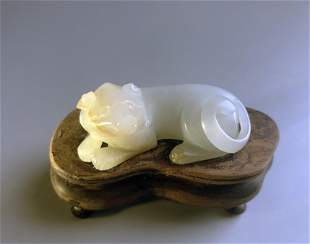 A Chinese Nephrite Jade Carving