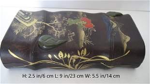 CHINESE ANTIQUE BRUSH INKSTONE
