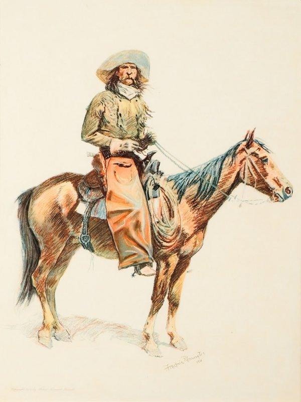 8A: Remington, Frederic: An Arizona Cowboy