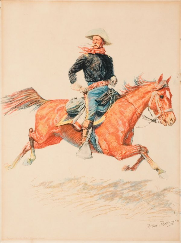 8B: Remington, Frederic: Cavalry Officer