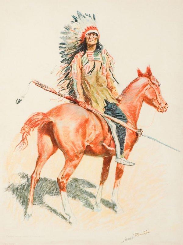8E: Remington, Frederic: Sioux Chief