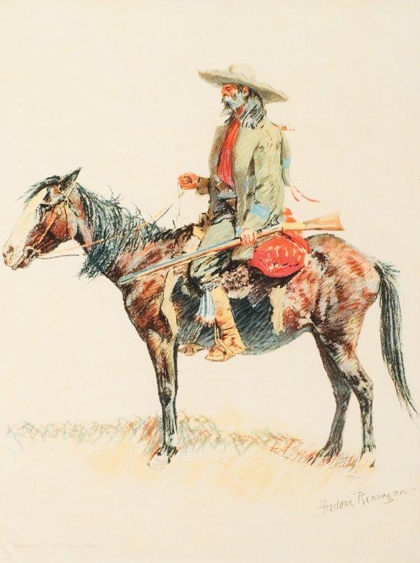 8H: Remington, Frederic: A Trapper
