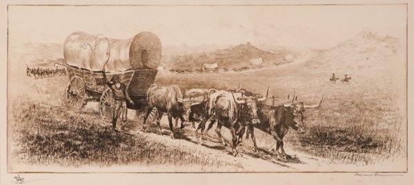 10: Borein, Edward: Emigrant Train