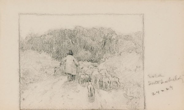 13: Couse, Eanger Irving: 6 Drawings