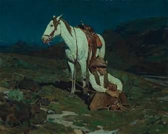 81: Johnson, Frank Tenney: The Night Hawk