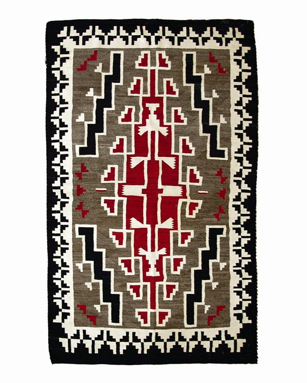 506: A Navajo regional rug, second quarter of the 20th