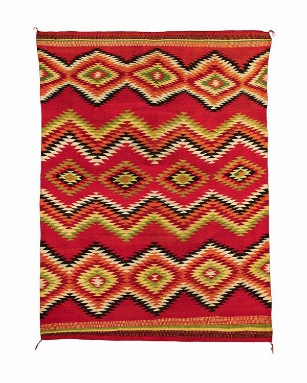 507: A Navajo transitional blanket, last quarter of the