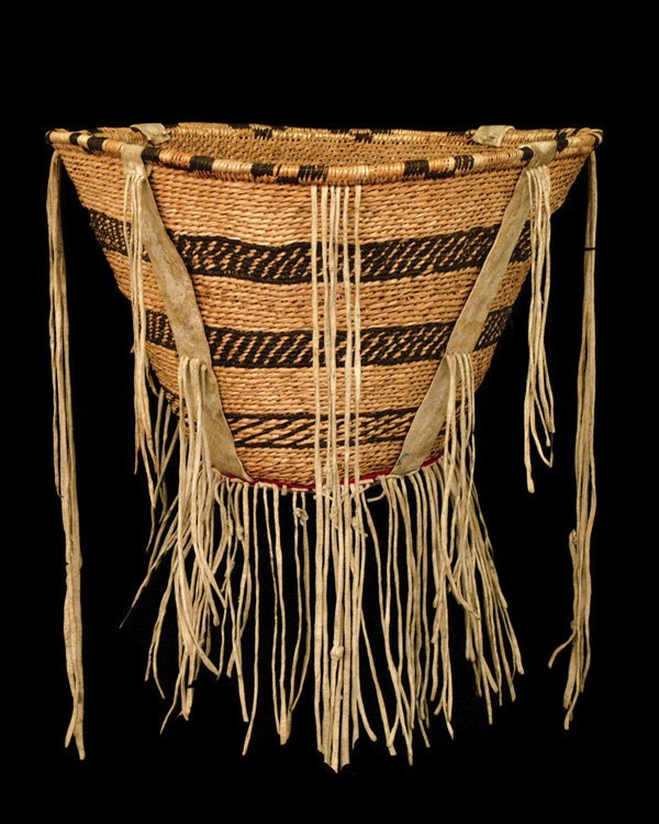 522: An Apache basket, last quarter of the 19th century