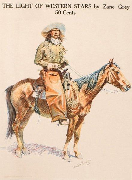 1A: Frederic Remington 1861-1909; An Arizona Cowboy ;