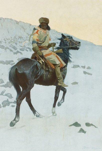 2A: Frederic Remington 1861-1909; The Half Breed ; Li