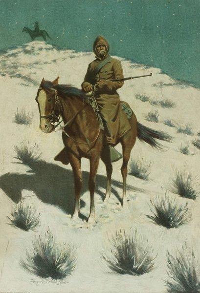 2B: Frederic Remington 1861-1909; The Cossack Post ;