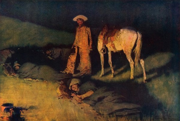 3: Frederic Remington 1861-1909; 4 Artist's Proofs ;