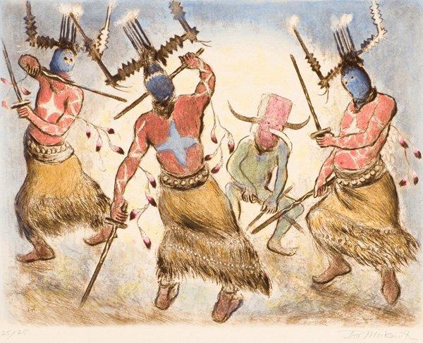 5: Ira Moskowitz 1912-2001; Indians of the Southwest