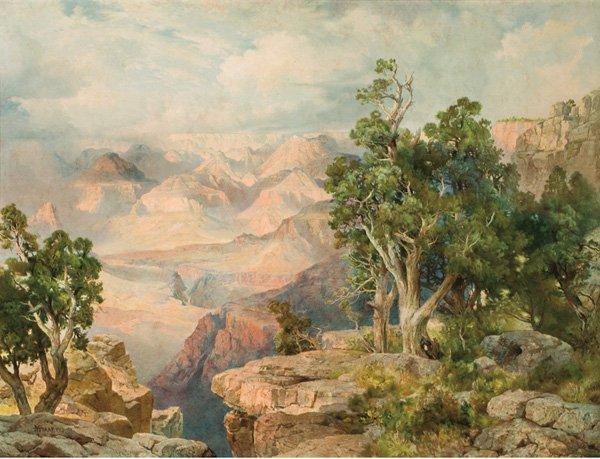 7: Thomas Moran 1837-1926; Grand Canyon of Arizona fr