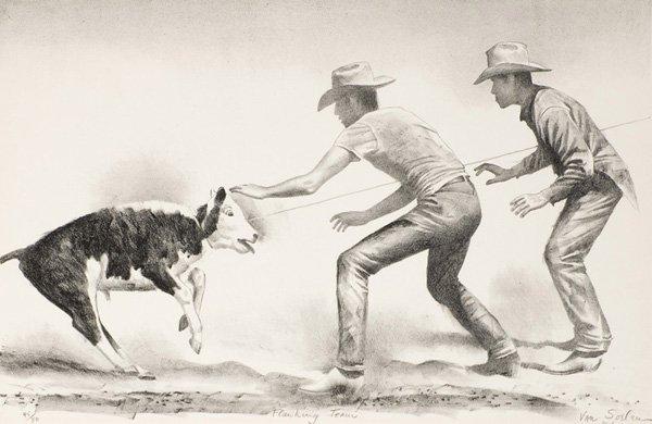 10: Theodore Van Soelen 1890-1964; Flanking Team ; Li