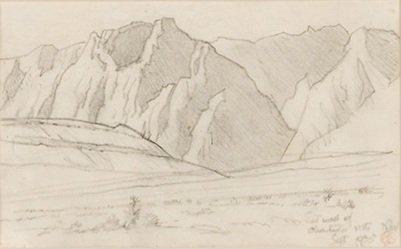 13: Maynard Dixon 1875-1946; Charleston Mountains ; P