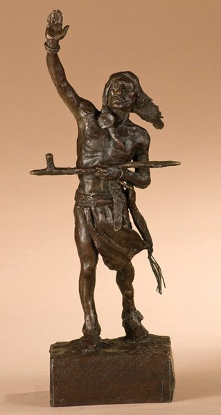 20: Charles M. Russell 1864-1926; Peace ; Bronze, edi