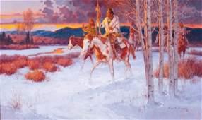 218: Roy Andersen b. 1930; Cold Maker Hides the Camp