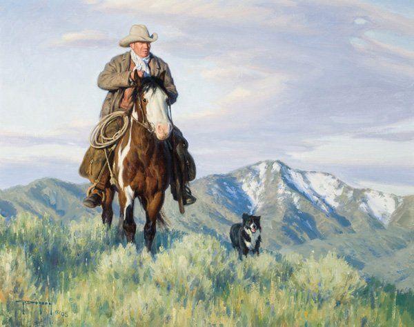 Robert Duncan b. 1952; Riding the Ridgeline ; Oi