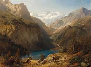 261: Hermann Herzog 1832-1932; Upper Lake of the Keon