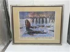 Holocaust Original Watercolor Painting