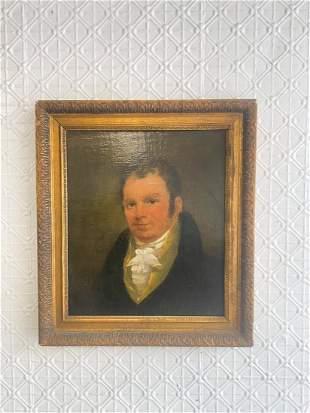 Portrait Of A Gentleman By William Merit Chase