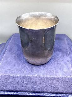 Georg Jensen Sterling Silver Baby Cup